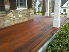 Deck, Fence, and Wood Staining
